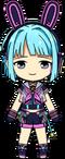 Hajime Shino Live Party Outfit chibi