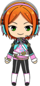 Hinata Aoi Repayment Festival Outfit chibi