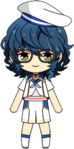 Tsumugi Aoba Blue Filament chibi