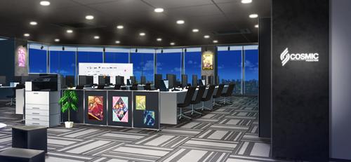 CosPro Office (Night - Bright) Full