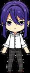 Souma Kanzaki Student Uniform Shirt chibi