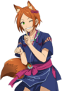 (Ghost Fox) Hinata Aoi Full Render