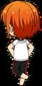 Hinata Aoi PE Uniform (Wet) chibi back