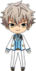 Koga Oogami 3rd Anniversary Outfit chibi