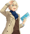 Eichi Tenshouin Casual Winter Dialogue Render