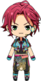 Mao Isara Tanabata Outfit chibi