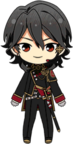 Rei Sakuma Blood Banquet Outfit chibi