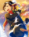 (Black Santa) Tetora Nagumo Frameless Bloomed