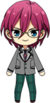 Ibara Saegusa Student Uniform chibi