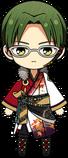 Keito Hasumi ES AKATSUKI Uniform chibi