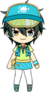 Mika Kagehira Ice Cream Shop chibi