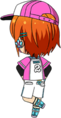 Yuta Aoi Play Ball chibi back