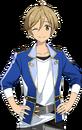 (Academy Idol) Tomoya Mashiro Full Render Bloomed