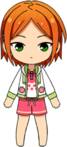 Yuta Aoi Strawberry Picking chibi