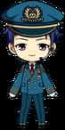 Yuzuru Fushimi Pilot chibi