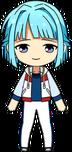 Hajime Shino ES Ra*bits Practice chibi