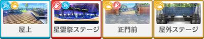 Lost Star*Wavering Light, Pleiades Night Natsume Sakasaki locations
