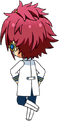 Mao Isara ES Idol Uniform chibi back