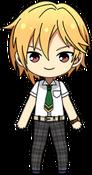 Nazuna Nito Summer uniform chibi