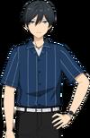 Hokuto Hidaka Casual Spring-Summer Dialogue Render