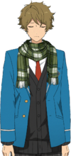 Midori Takamine Winter Scarf Dialogue Render