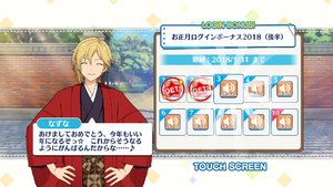 Nazuna Nito 2018 New Year Login