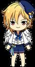 Nazuna Nito Ra*bits Uniform Winged chibi