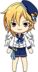 Nazuna Nito Ra*bits Uniform Winged chibi
