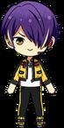 Shinobu Sengoku Patrol Hero Outfit chibi