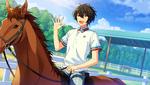 (Horse Riding and Calm) Ritsu Sakuma CG