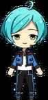 Kanata Shinkai Patrol Hero Outfit Chibi