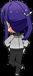 Souma Kanzaki Scroll of the Elements Practice chibi back