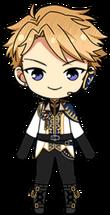 Arashi Narukami King's Arrival Uniform Outfit chibi