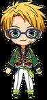 Makoto Yuuki SS Outfit chibi