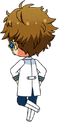 Mitsuru Tenma ES Idol Uniform chibi back