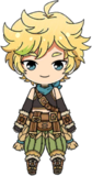 Sora Harukawa Adventurer chibi