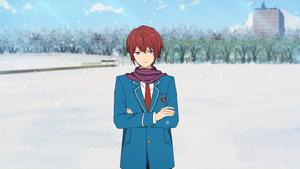 Tsukasa Suou Winter Uniform + Muffler Outfit