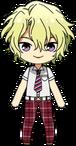 Hiyori Tomoe Summer Uniform chibi