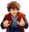(Bright Red Excitement) Chiaki Morisawa Full Render