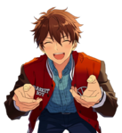 (Bright Red Excitement) Chiaki Morisawa Full Render