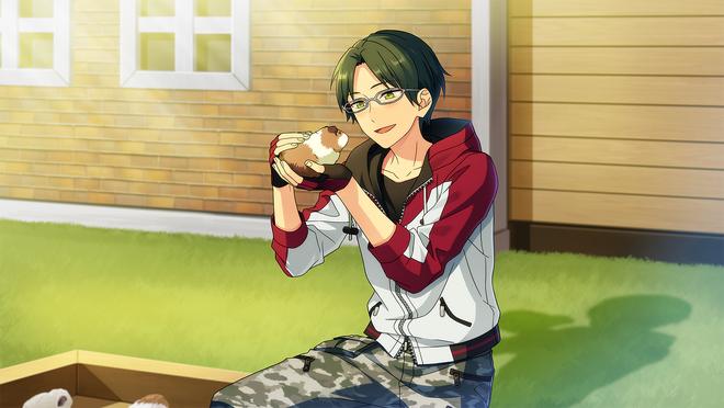 (Challenging Opponent) Keito Hasumi CG