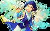 (Magnolia's Feelings) Yuzuru Fushimi Full Render Bloomed