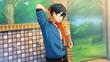 (Sense of Responsibility and His Friends) Hokuto Hidaka CG