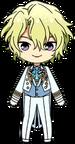 Hiyori Tomoe fine Uniform (Past) Outfit chibi