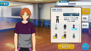 Yuta Aoi Music Festa Practice Outfit