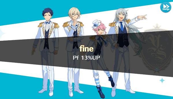 Fine 13% Up