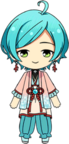 Kanata Shinkai Dragon Palace Clothes chibi