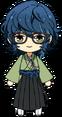 Tsumugi Aoba Ronin Outfit chibi