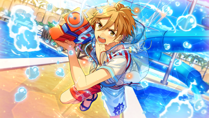 (Splash Attack) Tomoya Mashiro CG2
