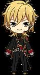 Kaoru Hakaze Blood Banquet Outfit chibi